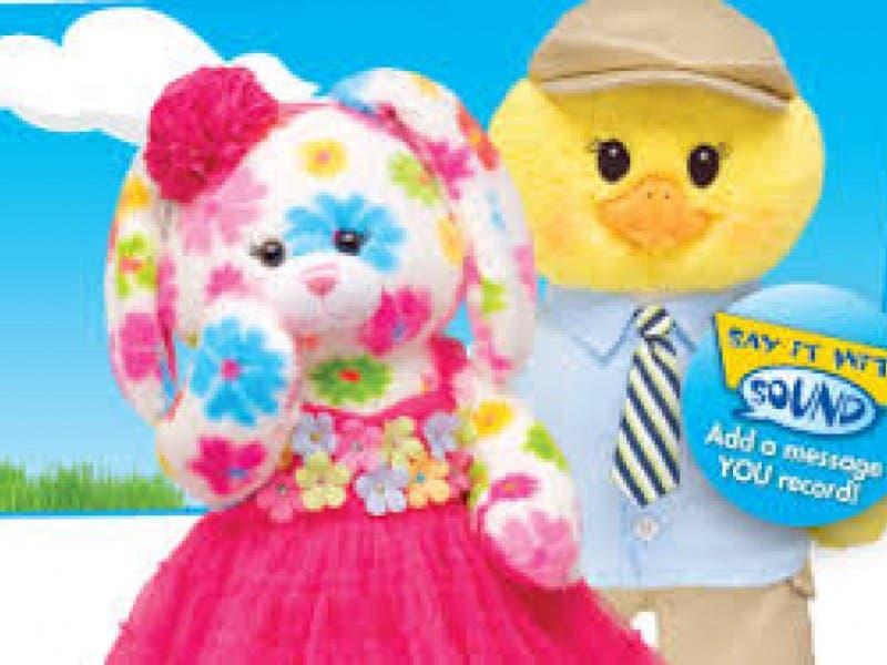 002a269cc08 Build A Bear Easter Bunny - Image Of Bear and Rose Imagetool.Co