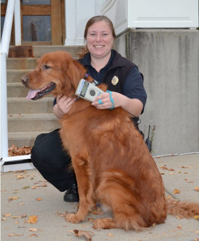 Needham Animal Control Officer Receives New Microchip