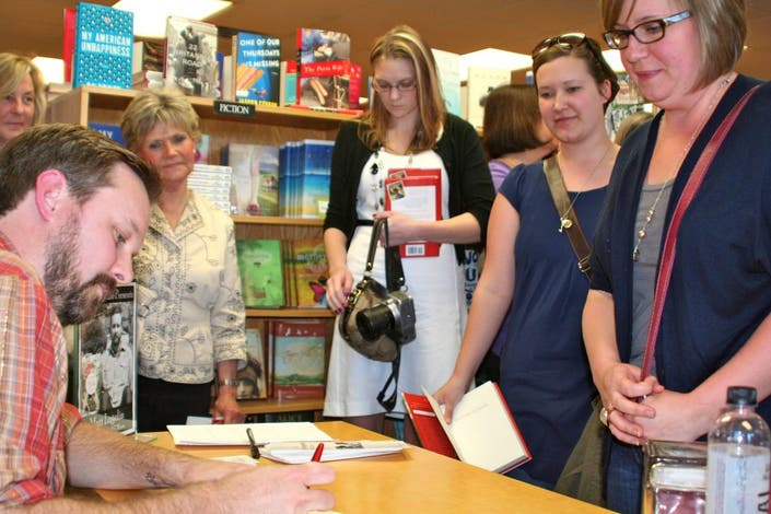 Current New York Times Best Selling Author Signs In Wayzata