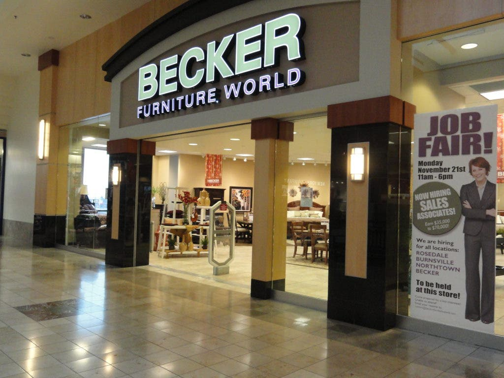 Becker Furniture World, Becker Furniture Burnsville Mn