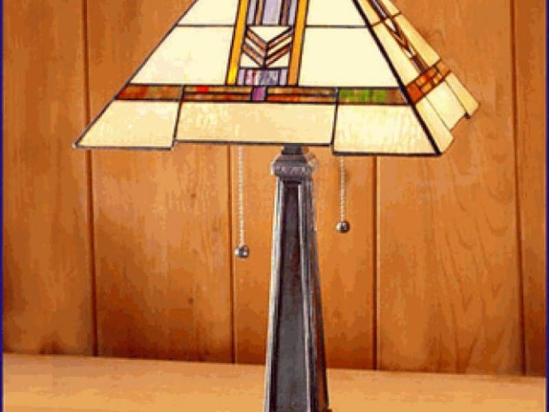 Stained Gl Frank Lloyd Wright Lamp Cles