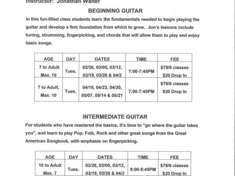 Guitar Lessons Beginning Intermediate Mill Valley Ca Patch
