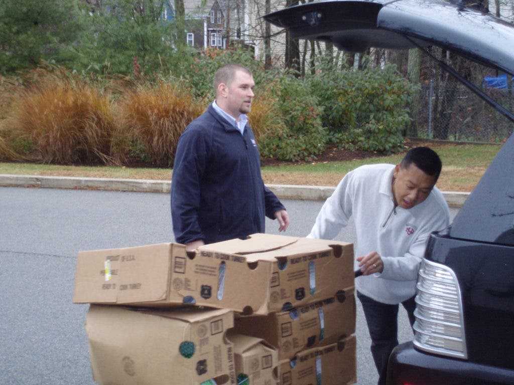Kings Donates 100 Turkeys To The Dedham Food Pantry