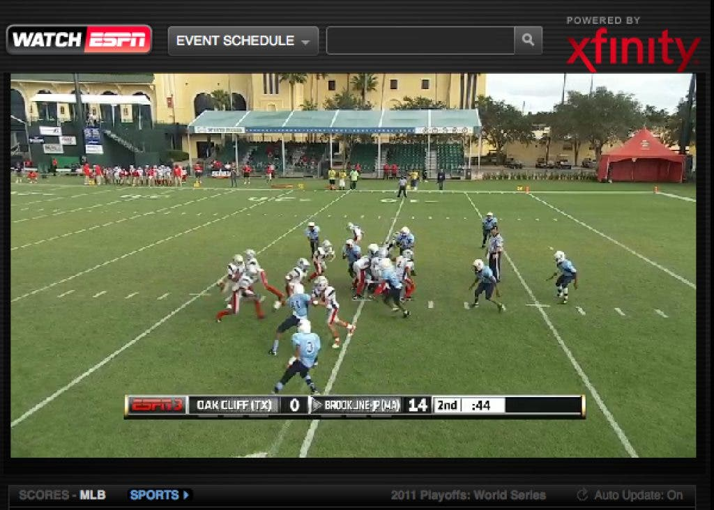 Brookline-JP Pop Warner Game Is On ESPN3 | Jamaica Plain, MA Patch