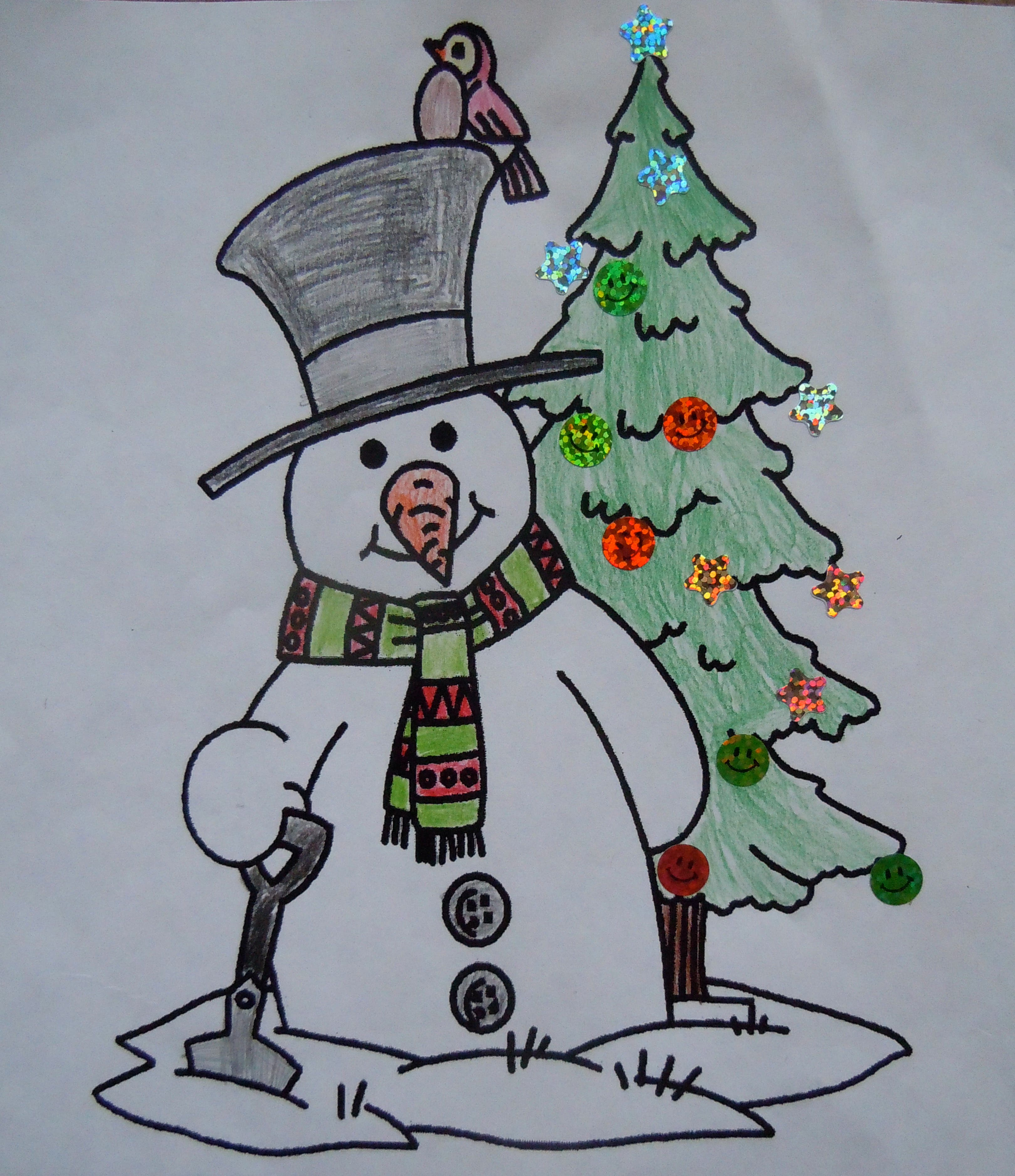 Christmas Coloring Contest Winners Announced   Lisle, IL Patch