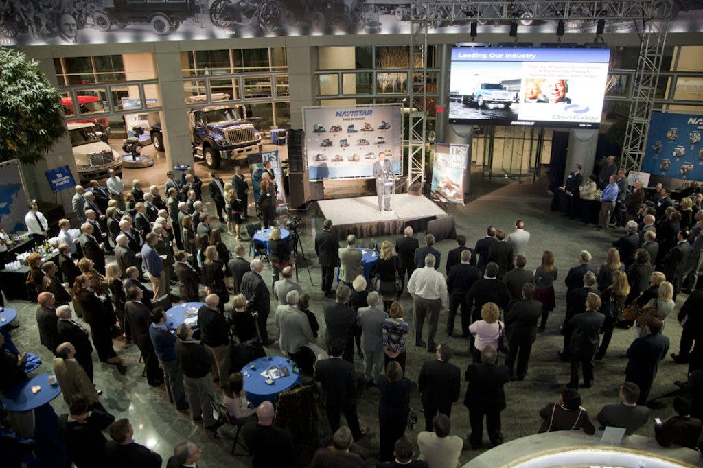 Navistar Celebrates Employment Milestone at New Headquarters