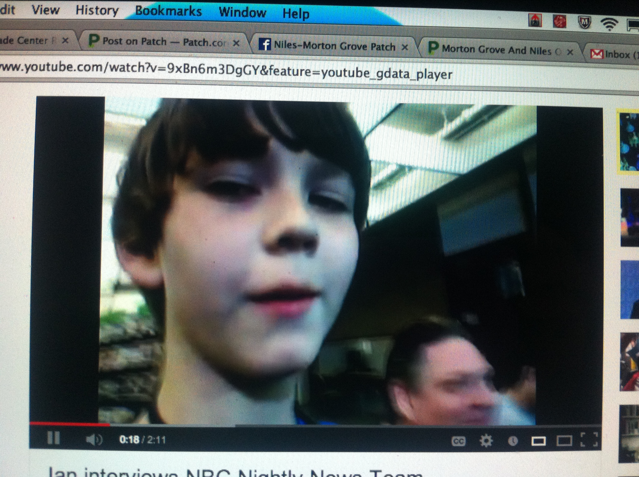 5th Grader Turns Tables On NBC National News Crew Getting