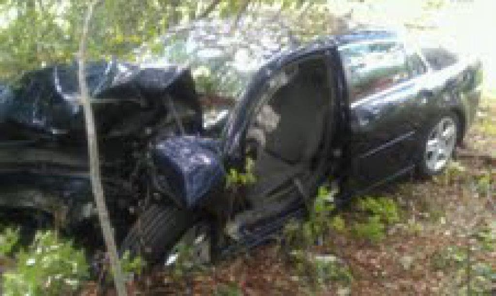 Paramedics Use Jaws of Life to Pull Out Driver in Route 95 North