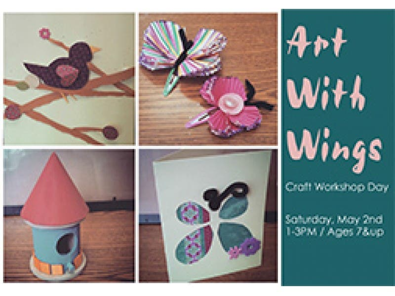 Art With Wings Kids Craft Workshops At Wayne Art Center Radnor