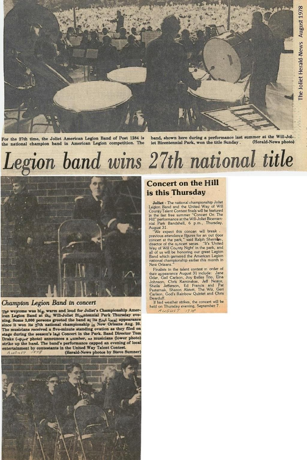 Joliet American Legion Band celebrates 70 Years with Spring