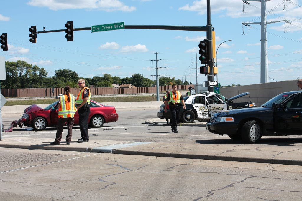 Accident on Elm Creek Boulevard Near County Road 81 Injures Two