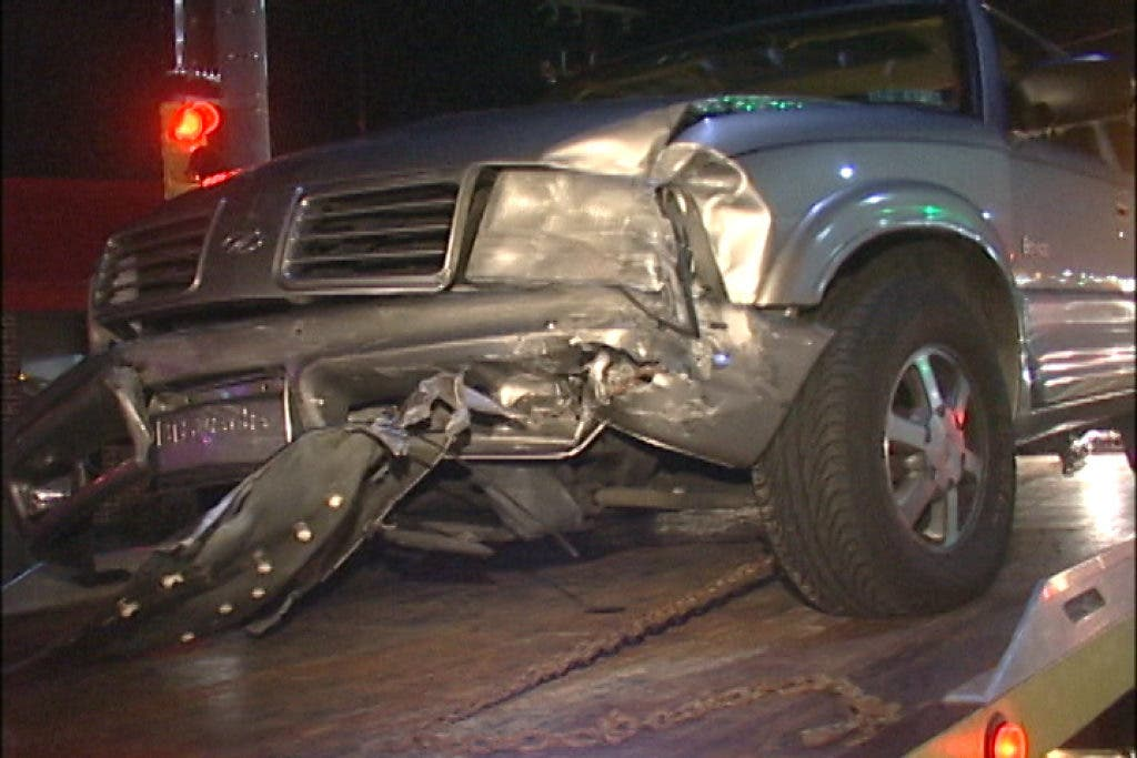One Extricated, Three Injured In Baltimore Pike Crash