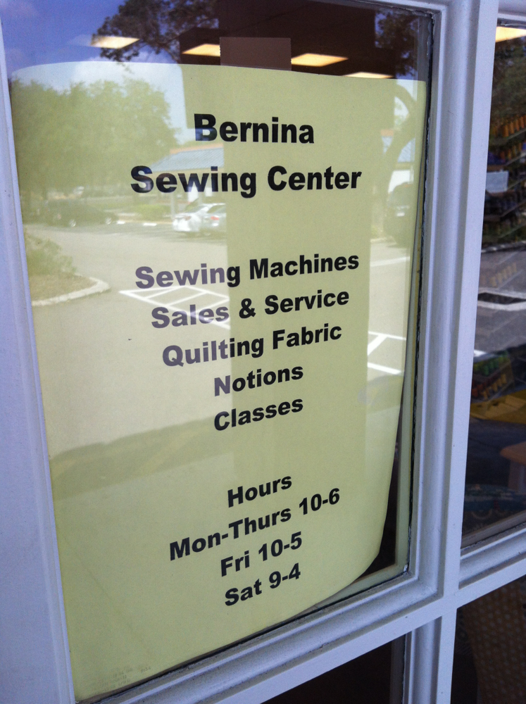 Bernina Sewing Center Now Open in Carrabba's Plaza | Temple
