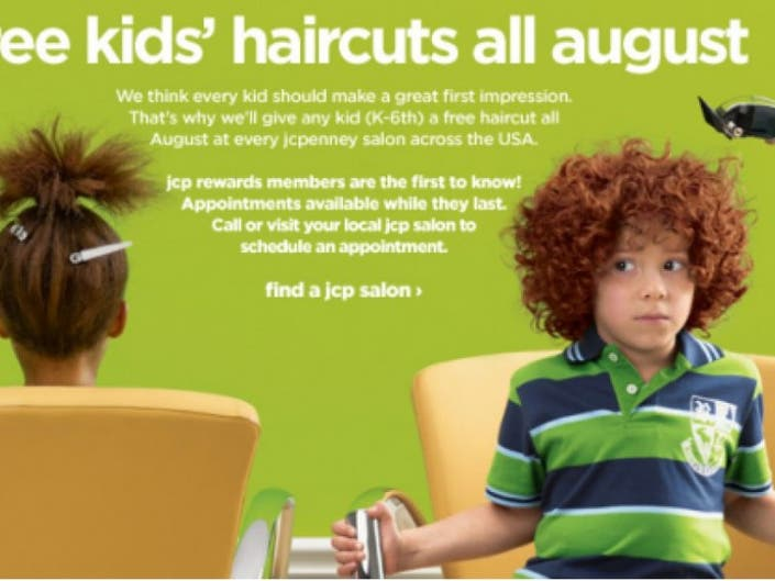 ... JCPenney Offering Free Back-to-School Haircuts-0 ...