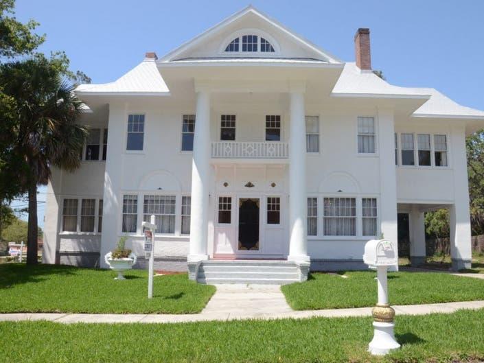 Palm Harbor S Historic White House For Sale Palm Harbor Fl Patch