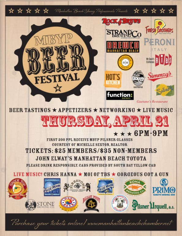 Mbyp Beer Festival Manhattan Beach