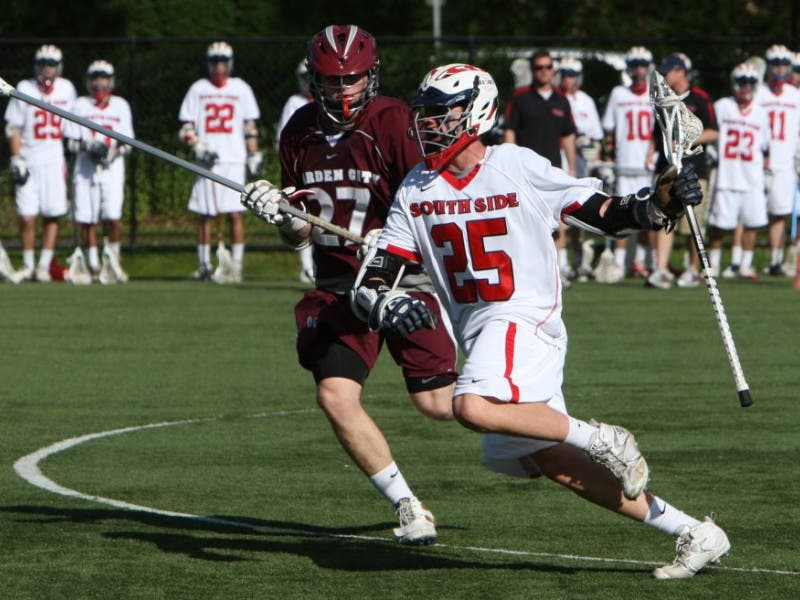 PLAYOFFS: Garden City Boys Lacrosse Ousts South Side, 14-2   Garden ...