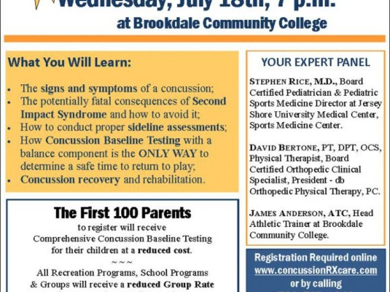 Youth Sports Concussions What You Need To Know Marlboro