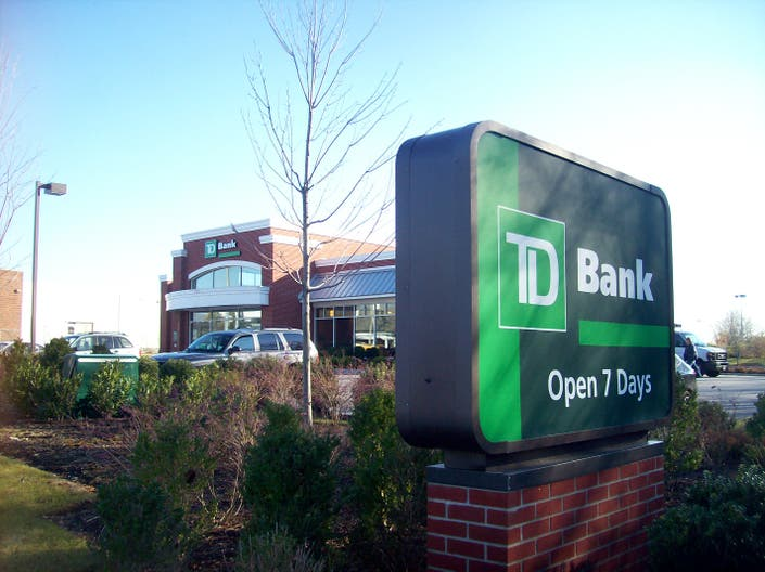 td bank open labor day