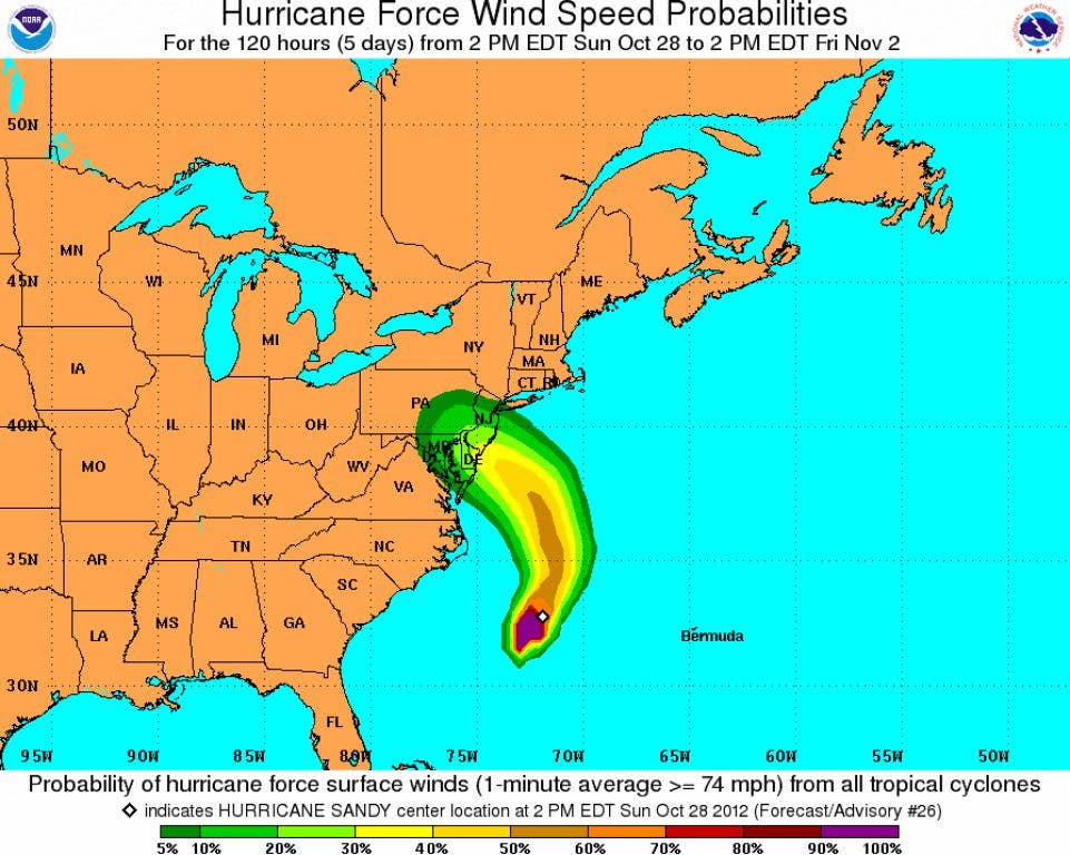 Winds Could Pose Greatest Storm Danger to Bergen County