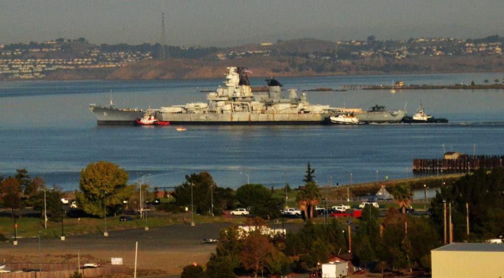 UPDATE: Long-Time Mothball Fleet Ship USS Iowa Will Depart