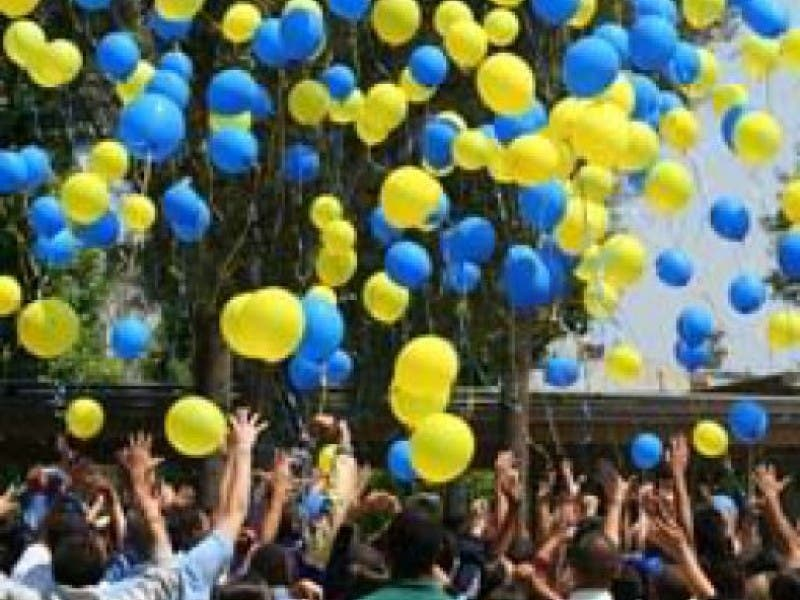 1 Greendales 75th Birthday Party To Include Balloon Release