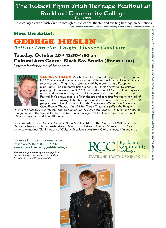 Rcc Celebrates Irish Culture Heritage The Robert Flynn