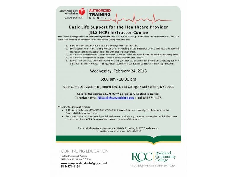 Basic Life Support For The Healthcare Provider Bls Hcp Instructor