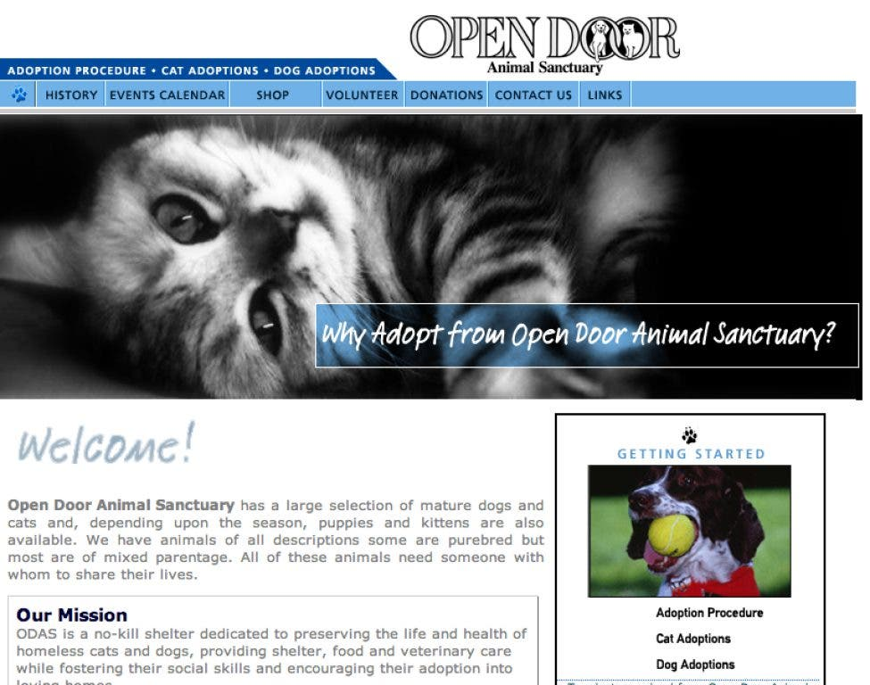 Claim Your Free Business Listing to Support Open Door Animal