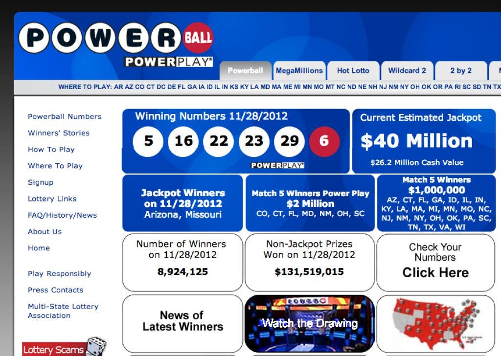 Who Won The Powerball Drawing Missouri Ticket Has Winning Numbers