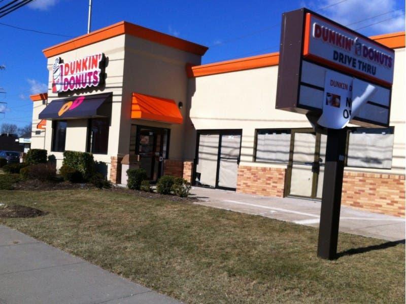 dunkin donuts with drive thru near me