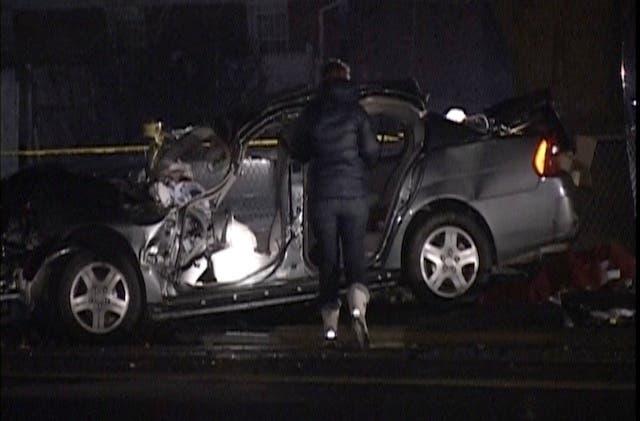 1 Killed, 4 Injured When Car Hits Utility Pole In Aurora