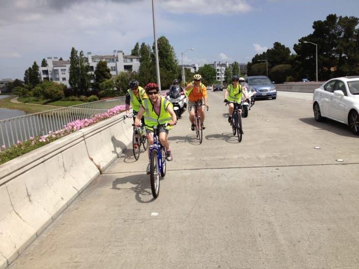 PHOTOS: Cyclists Ride 'Tour de San Mateo-Foster City School