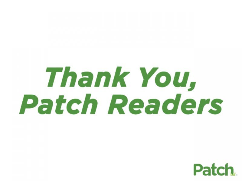 Thank You, Parsippany Patch Readers! | Parsippany, NJ Patch
