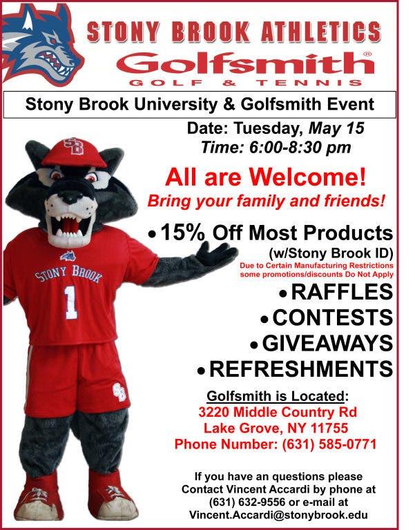Stony Brook University VIP Event at Golfsmith of Lake Grove