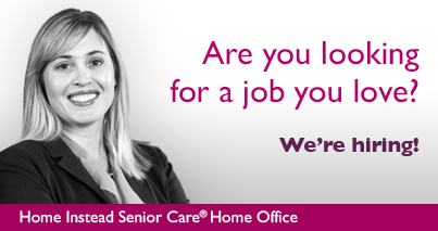 Now hiring: Non-medical caregivers  We provide all training