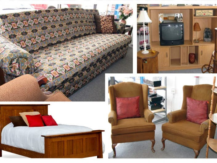 Furniture On At Allied S Attic Thrift