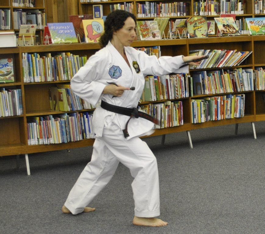 Karate Kicks Up Fun At Library | Eureka, MO Patch