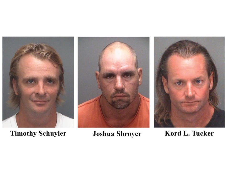Three Men Charged With Death Of Madeira Beach Fisherman