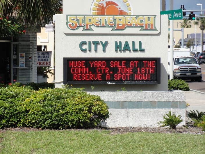 Former St  Pete Beach Police Officer Sues Police Chief