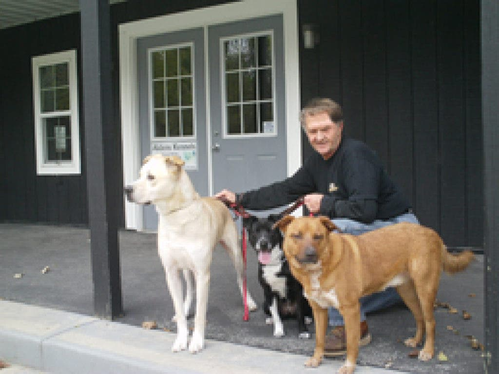 Aldens Kennels offers good fortune to K-9s from Lucky Dog
