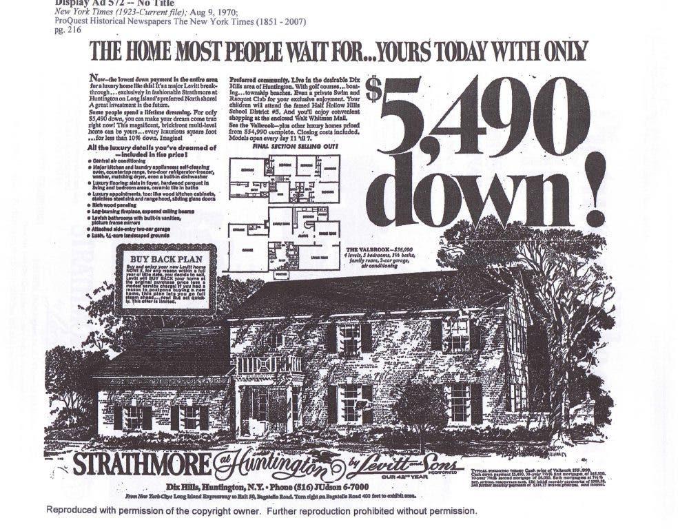 Part 1: Huntington's Very Own Levitt Houses: Strathmore at