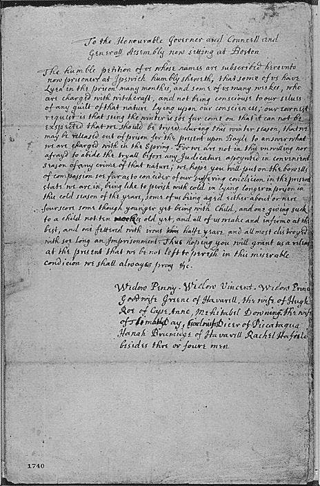 Long Island's Own Witchcraft Trial, 1657 | Sayville, NY Patch