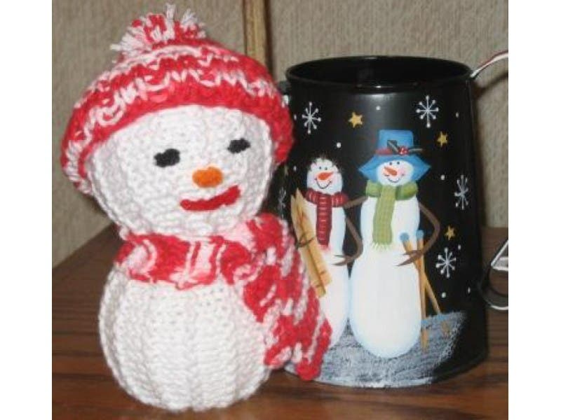 Knit Snowman Decorations For Your Holiday Home River Dell Nj Patch
