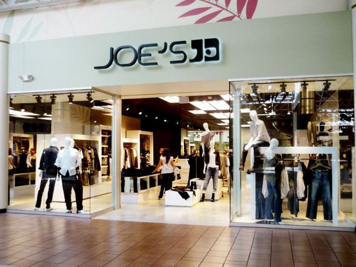 077525b4172 Joe s Jeans Outlet Opens at Great Mall