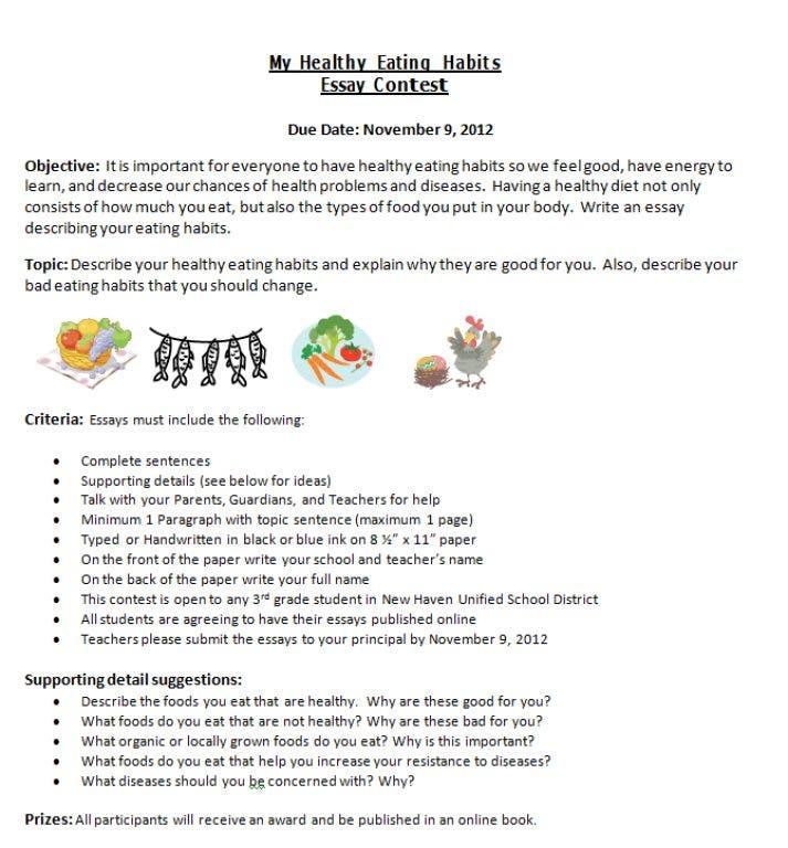local realtors hold third grade essay contest  union city ca patch