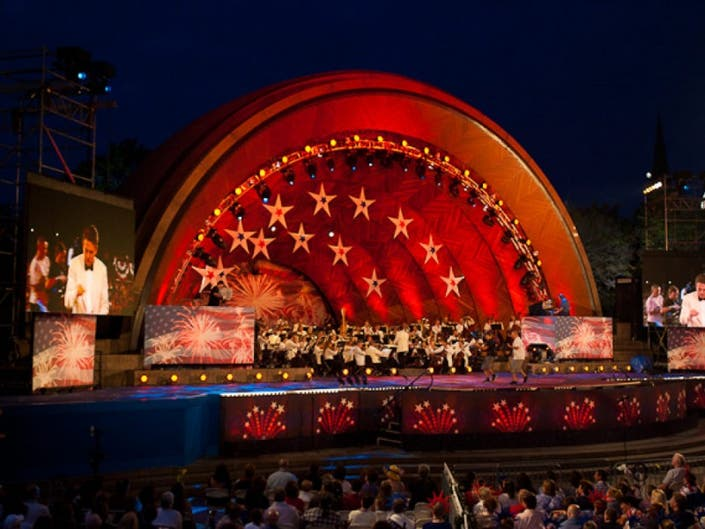 Free Concert At Hatch Shell July 30th >> Jennifer Hudson Headlines Fourth Of July Celebration At The Hatch
