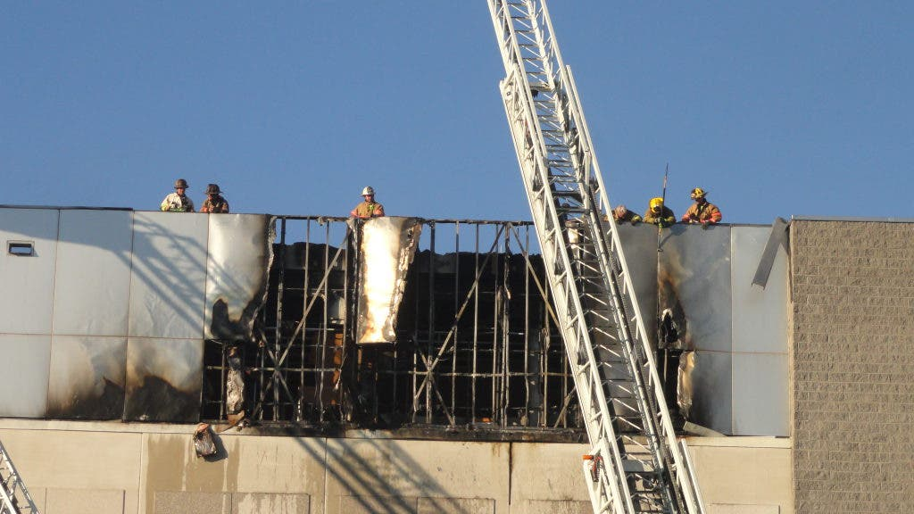 PHOTOS: Fire At Marlo Furniture Closes Rockville Pike ...