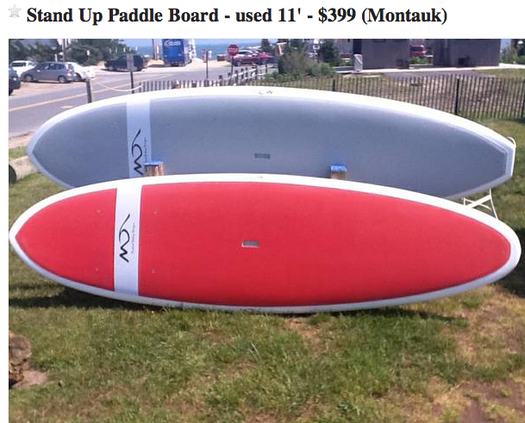 Craigslist Finds: Deals on Stand Up Paddle Boards | East ...