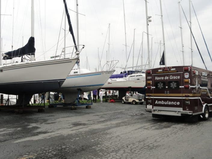 PHOTOS: Crews Arrive For Water Rescue Call at Tidewater